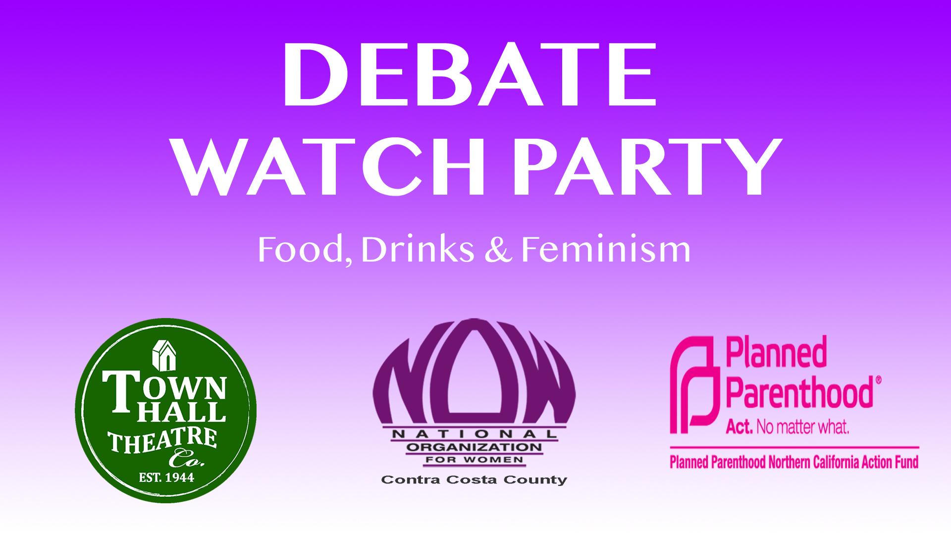 Debate Watch Party Event Brite