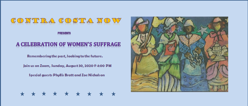 A Celebration of Women's Suffrage @ Zoom